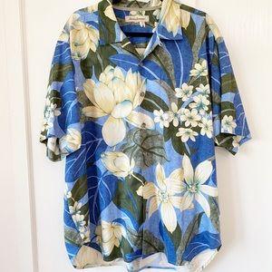 Tommy Bahama Silk Lotus Button Down Shirt